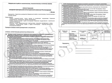 Отчет По Промышленной Безопасности В Ростехнадзоре Образец - фото 9