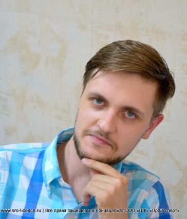 Специалист отдела по промышленной безопасности Черкас Алексей Дмитриевич